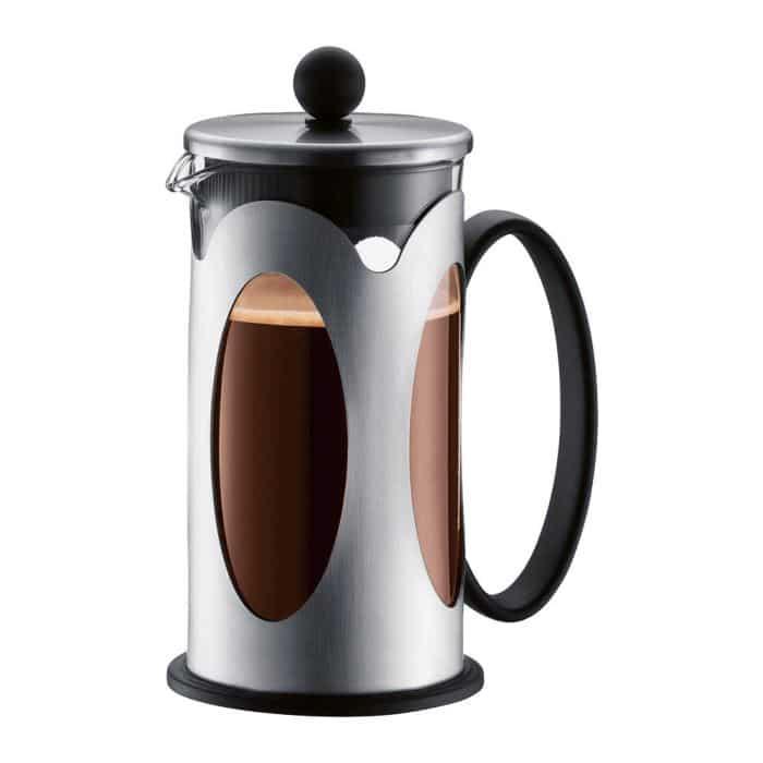 Cafeti re piston kenya inox de bodum br lerie pau 39 s caf - Cafetiere a piston bodum ...