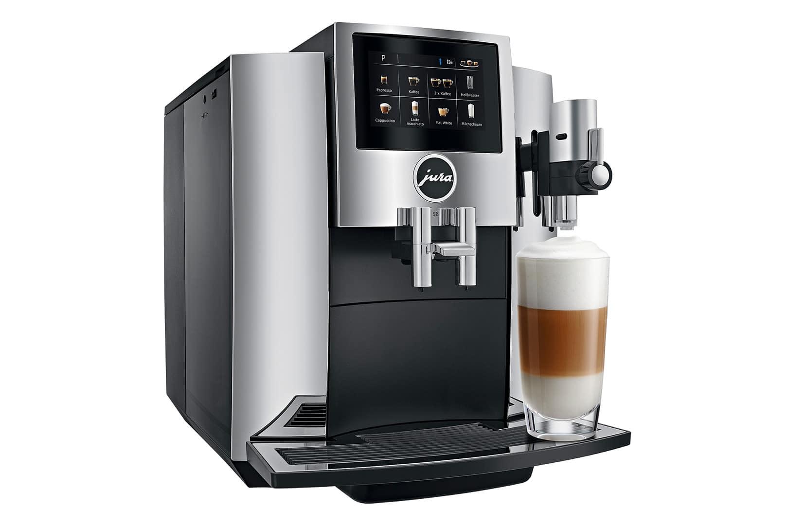 machine a cafe jura s8 chrome br lerie pau 39 s caf. Black Bedroom Furniture Sets. Home Design Ideas